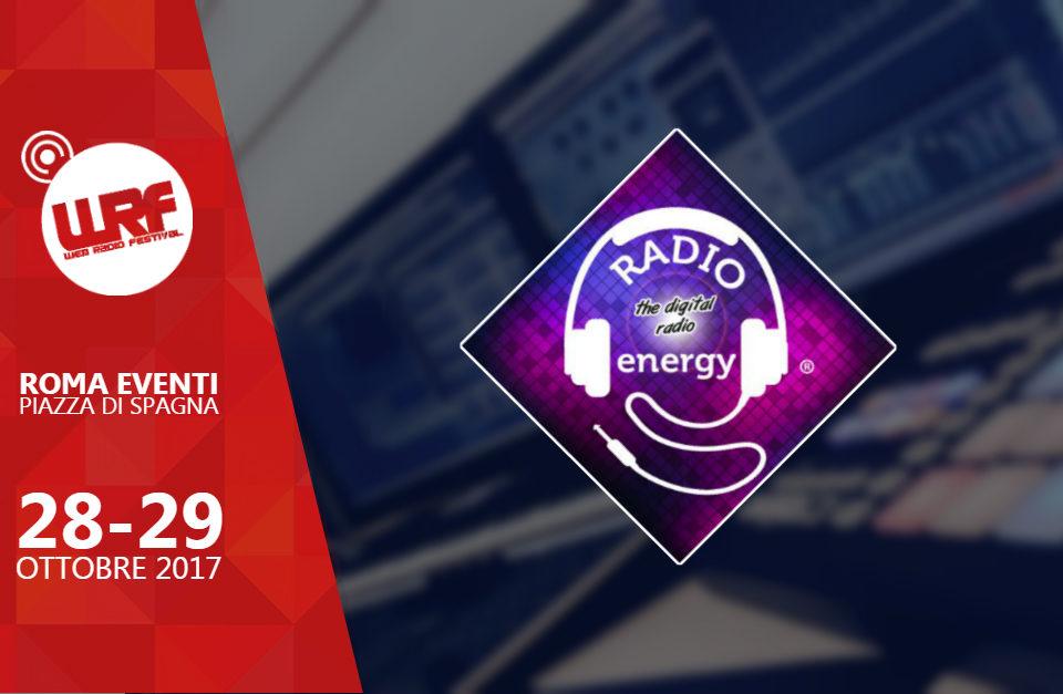 Radio Energy Italia sponsor del Web Radio Festival 2017