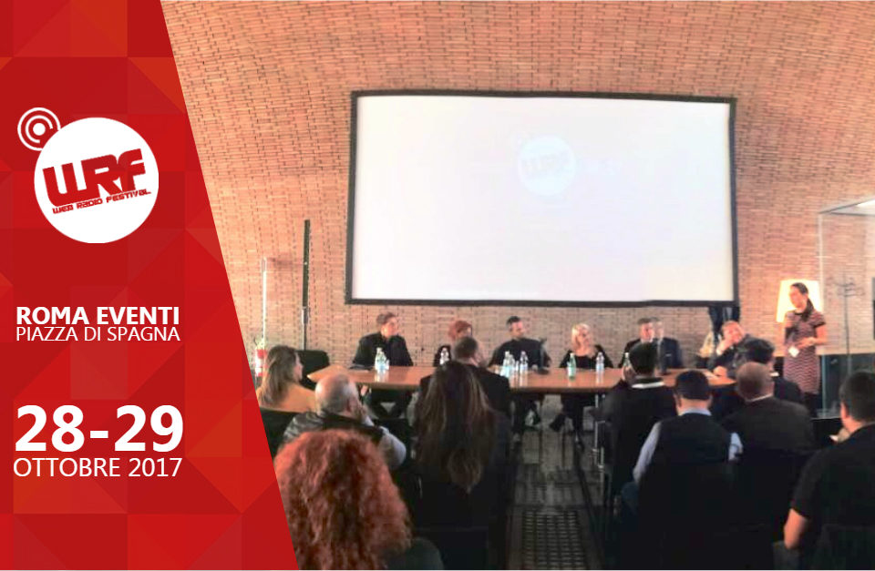 WRF17: il Futuro della Radio passa per Roma